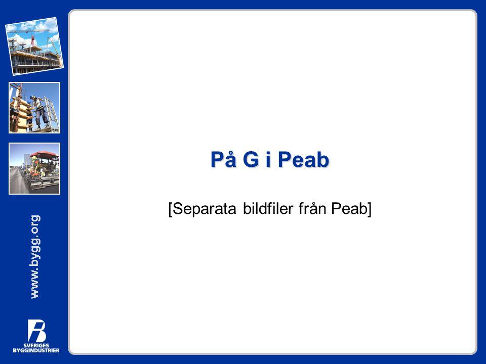 På G i Peab [Separata bildfiler från Peab]